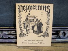 Peppernuts: A Christmas Tradition From by MooseBookshop on Etsy