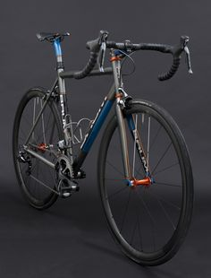 Busyman Custom Bar Tape on Baum's GTB, X-Power Grey, Blue Sirena, Burnt Orange, Corretto