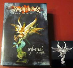 Raging Heroes 20041 Syl Iriah Heroic 1 Miniature Female Wood Spirit Sorceress | eBay