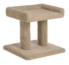 20 Inch Lazy Cats Dream Cat Perch (Beige) *** Check this useful article by going to the link at the image.