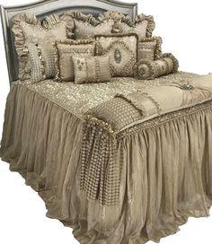 Exquisite Designer Bedding #LuxuryBedding #Luxuryhouses