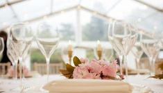 Clear roof marquee from Marquees & Pavilions. Catering by Oxford Fine Dining. Blossom freshly picked from the manor and styled by Pinky Floral Styling. Photo by Isobel Murphy Photography at Yarnton Manor - Oxfordshire Manor House Wedding Venue Unique Wedding Venues, Unique Weddings, Our Wedding, Got Married, Getting Married, Stone Barns, A Perfect Day, Private Garden, Floral Style