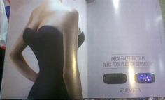 """Sexism in advertising: """"The PS Vita has front touch and rear touch, giving the portable a new type of gaming sensation. Here, a French PS Vita promotional ad's interpretation of that dual touch sensation seems somewhat different. Playstation, Morning Sickness Medication, Magazine Advert, Creepy Images, French Magazine, Media Literacy, Women In History, Print Ads, Feminism"""