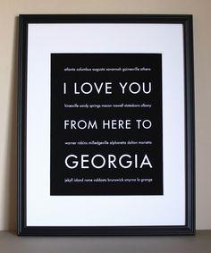 Georgia State Art.