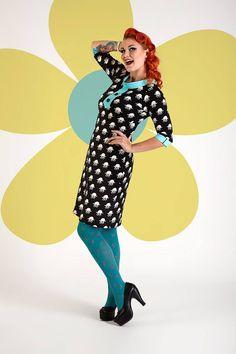 Buy your new dress on newdress.dk  Margot dress: Betty Boojangles Spring 2016 #newdress_dk #retrodress #vintagedress