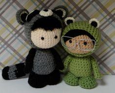 Anigurumi Dolls in Costumes by Crochet Paws, via Flickr