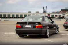 e36 coupe on OEM BMW styling 66 wheels