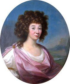 1791 Anne Duchess of Elbeuf, née Cetner by Pietro Labruzzi