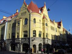 Tirkkosen talo building Big Town, Examples Of Art, Art Nouveau Architecture, Beautiful Buildings, Finland, Two By Two, To Go, Museum, Mansions