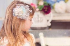 Cold as Ice Hair Clip by London Raquel by londonraquel on Etsy, $28.99