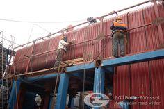 20ton chain grate coal fired boiler Mongolia