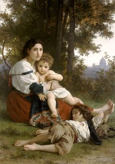 Rest, by William Adolphe Bouguereau