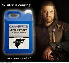Funny Game of Thrones Memes Eddard Stark, Ned Stark, Game Of Throne Lustig, Game Of Thrones Jokes, Game Of Thrones Pictures, Game Of Thrones Winter, Frozen Summer, Hbo Series, Good Humor