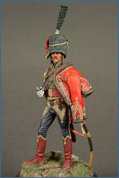 Officer, 4th Hussars -Rod Curtis
