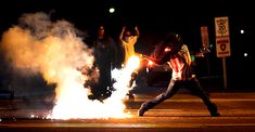 Police militarization and the death of an unarmed teen sparked riots in Ferguson, Missouri
