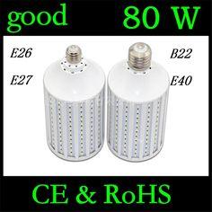 $69.90 (Buy here: https://alitems.com/g/1e8d114494ebda23ff8b16525dc3e8/?i=5&ulp=https%3A%2F%2Fwww.aliexpress.com%2Fitem%2FUltra-Power-80W-LED-lamps-E27-E40-B22-E26-5730-SMD-216-LEDs-Corn-Bulb-Chandelier%2F32433951869.html ) Ultra Power 80W LED lamps E27 E40 B22 E26 5730 SMD 216 LEDs Corn Bulb Chandelier light AC 110V 220V 240V Pendant lights 2pcs/lot for just $69.90