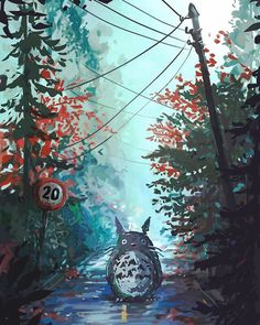 23 Ghibli Inspired Fan Art That Will Lift Your Spirits Studio Ghibli Art, Studio Ghibli Movies, Hayao Miyazaki, Film Anime, Anime Art, Image Manga, Howls Moving Castle, Anime Kunst, My Neighbor Totoro