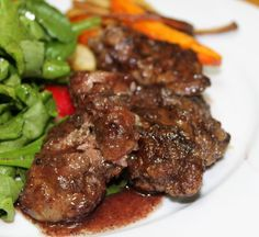 Pan Fried Chicken Liver --looks like a great recipe, does link, but cannot print it out.