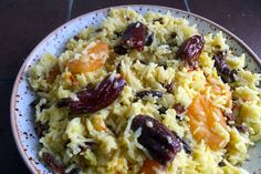 Südlü/shirin plov. Plov is the national dish of Azerbaijan, with over 40 different varieties to choose from. This is a sweet milk pilaf with dried fruits.