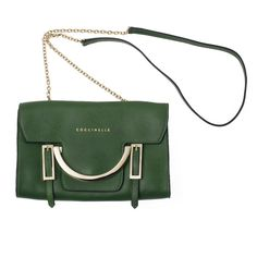 Bolsos mini: Coccinelle Vogue, Kate Spade, Green, Bags, Shoes, Fashion, Green Handbag, Chain, Photo Galleries