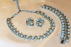 CORO Couture Adorable Stunning Powder Blue by MyJewelsBoutique