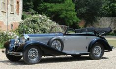 1938 Mercedes Benz 540K Cabriolet