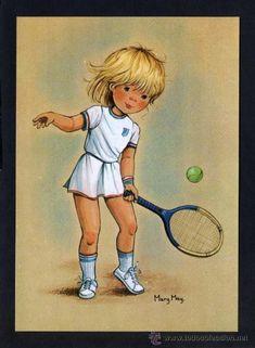 Ilustrador *Mary May* Ed. Pagsa serie 539 nº 1 al 4. Serie completa. Nuevas. (Postales - Dibujos y Caricaturas)
