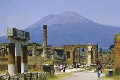 Hahnemuhle PHOTO RAG Fine Art Paper (other products available) - Pompeii, Mt. Vesuvius behind, Campania, Italy, Europe - Image supplied by WorldInPrint - Fine Art Print on Paper made in the UK Pompeii History, Photo Mug, Roman City, Southern Europe, Long Shot, Ancient Civilizations, Tour Guide, Naples, Poster Prints