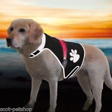 NEW Flash Safety Vest For Dogs High Visabilty For Your Pet All Sizes  gilet  25e