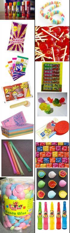 80's Florerende snoepjes! ......ineens snoepten we veel meer als in de jaren 70.......vraag mij niet waarom, het lag zeker niet aan de reklame....ik denk meer aan besteding van geld....