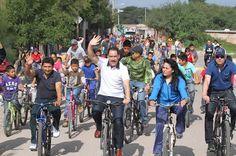 En Peñuelas se llevo a cabo RodAndo con Nuestra Gente ~ Ags Sports