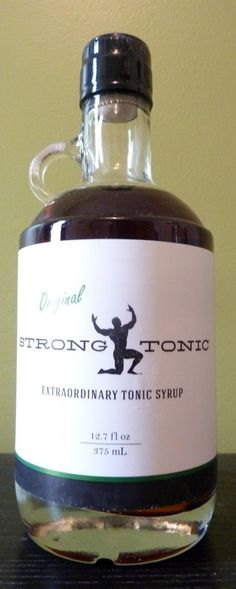 I can't get enough tonic syrup. This is by far the best trend to hit Tonic Water, Gin And Tonic, Tonic Syrup, Whiskey Bottle, Cocktails, Strong, Tasty, Board, Craft Cocktails