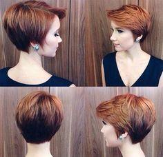 10 voortreffelijke mooie kapsels voor de dames met kort haar. - Pagina 3 van 10 - Kapsels voor haar