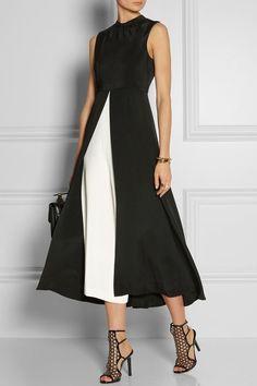 This silk jumpsuit is minimalist and elegant. Image: Net-a-Porter