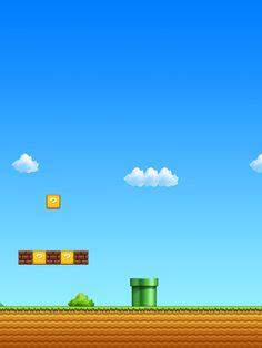 Super Mario iPad wallpaper