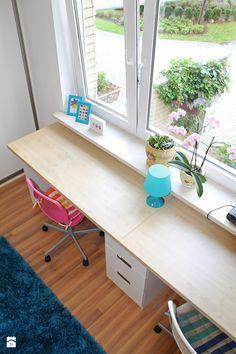 Pokój rodzeństwa - biurko - zdjęcie od Inside Story - Pokój dziecka - Styl Nowoczesny - Inside Story