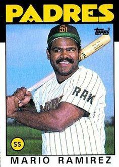 1986 Topps #262 Mario Ramirez - San Diego Padres (Baseball Cards) by Topps. $0.88. 1986 Topps #262 Mario Ramirez - San Diego Padres (Baseball Cards)