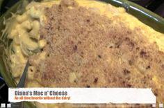 How to Make Mac'n'Cheese!   Diana Stobo #glutenfree #dairyfree