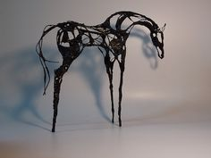 Buy Dark Horse, Mixed-media sculpture by Linda Hoyle on Artfinder. Discover thousands of other original paintings, prints, sculptures and photography from independent artists. Small Sculptures, Sculptures For Sale, Mixed Media Sculpture, Bird Artwork, Dark Horse, Lovers Art, Pet Birds, Buy Art, Original Paintings