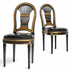rateau pair of chair ||| 20th century design ||| sotheby's n08530lot3lqrben