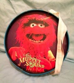 Vintage Muppet Sound Animal Noble & Cooley Toy Marching Drum