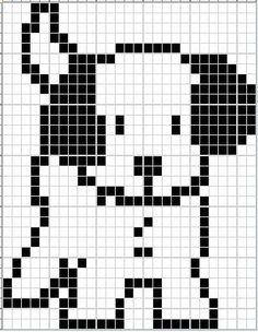 - - - Puppy Ann's Cross-Stitch Patterns Trendy Ideas For Crochet Patterns Tapestry Knitting Charts Dog Paw This Pin was discovered by Pat - Dianes Crafting headDog head Miffy Nijntje perler bead pattern Gattino - S. Knitting Charts, Easy Knitting, Knitting Stitches, Knitting Patterns, Crochet Patterns, C2c Crochet, Tapestry Crochet, Crochet Chart, Filet Crochet