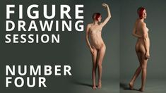 Figure Drawing Session #4 - Nude Model Art Reference