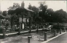 CLEEVE Lock Postcard nr Reading Didcot OXFORDSHIRE Anon