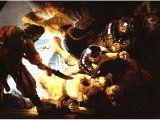 `The Blinding of Samson` by Rembrandt. Canvas, 1636. Frankfurt am Main, St delsches Kunstinsitut..