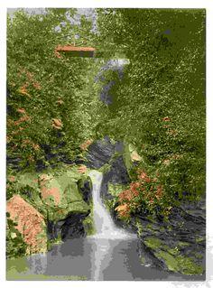 latest addition Isle of Man, Peel, Glen May Waterfall, England