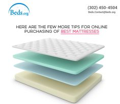 Online Reviews: It is recommended to read online reviews before buying a #mattressonline. While reading make sure to look for mattress descriptions that suits one preference.