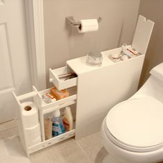 Proman Bath Floor Cabinet - Space Savers at Hayneedle