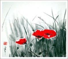 pintura japonesa caracteristicas - Buscar con Google
