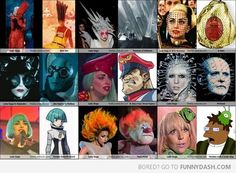 Lady Gaga Also Totally Looks Like...